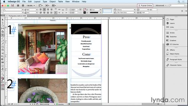 Creating pull quotes and design objects using tables: InDesign Tables in Depth