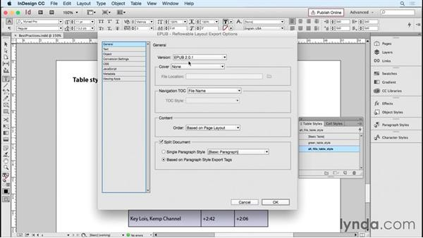 Understanding best practices: InDesign Tables in Depth