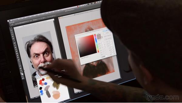 Research and pre-production: Jason Seiler: Digital and Traditional Painter