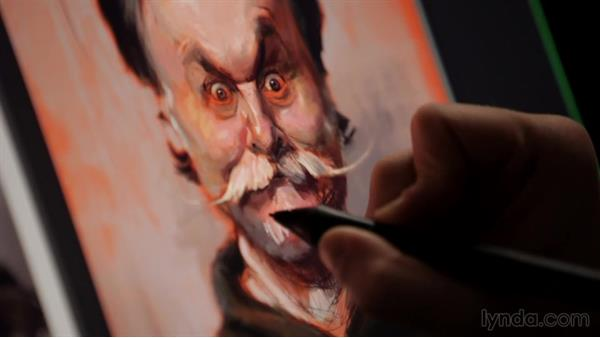 What makes it a caricature?: Jason Seiler: Digital and Traditional Painter