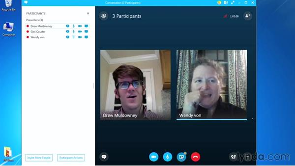 Accessing meeting notes: Up and Running with Skype for Business