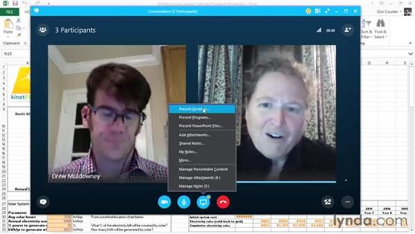 Sharing an application or desktop: Up and Running with Skype for Business