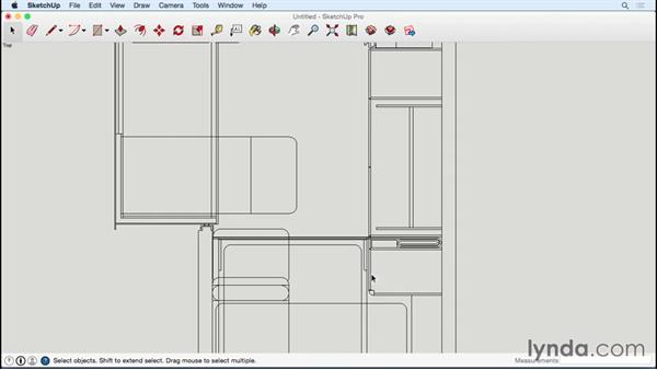Importing tiny house plan and building subfloor: Designing a Tiny House with SketchUp