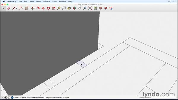 Creating the metal frame for slide-out and trim plywood: Designing a Tiny House with SketchUp