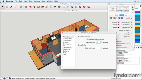 Animating the design: Designing a Tiny House with SketchUp