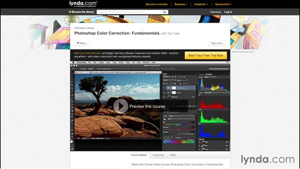 What you should know before watching this course: Color Correction in Adobe Camera Raw