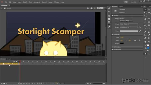 Assembling the scene: HTML5 Canvas and WebGL in Flash Professional CC