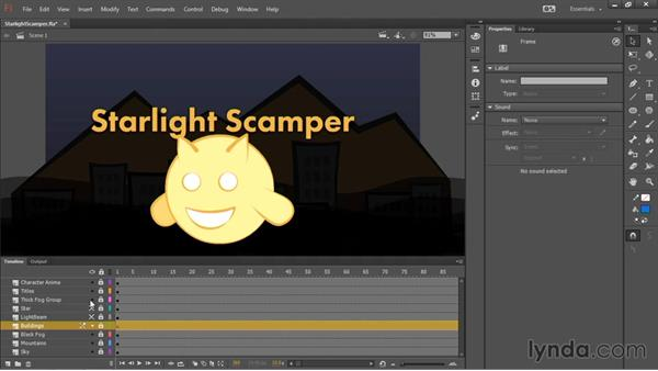Animating the scene: HTML5 Canvas and WebGL in Flash Professional CC