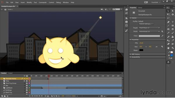 Character and titles animation: HTML5 Canvas and WebGL in Flash Professional CC