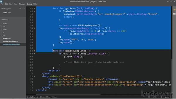 HTML5 WebGL integration: HTML5 Canvas and WebGL in Flash Professional CC