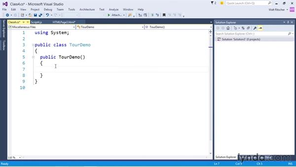 First look at the code editors: Visual Studio 2015 Essentials 01: Exploring the Visual Studio Ecosystem