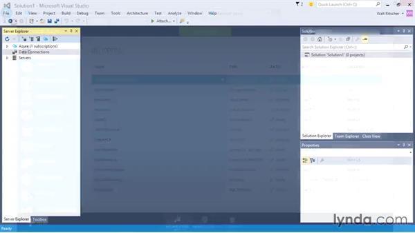 Understanding Azure and Visual Studio: Visual Studio 2015 Essentials 01: Exploring the Visual Studio Ecosystem