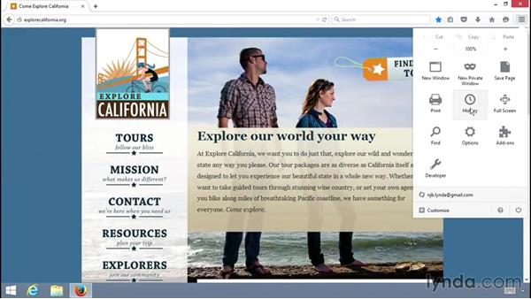 Welcome: Up and Running with the Firefox Browser