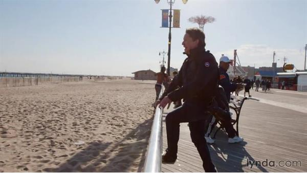 Shooting stuffed animals and people on the boardwalk: Shooting a Photo Essay: Coney Island