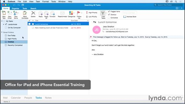 Next steps: Outlook for Mac 2016 Essential Training