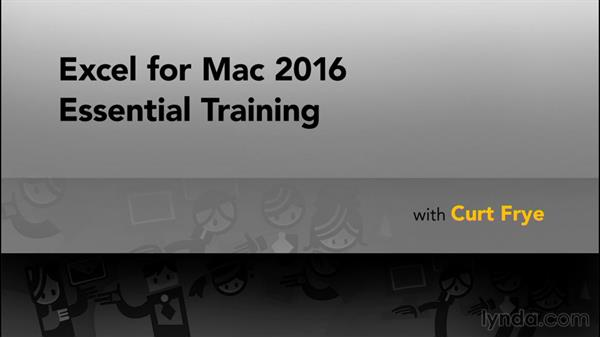Next steps: Excel for Mac 2016 Essential Training