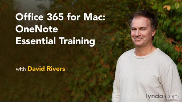 Next steps: Office 365 for Mac: OneNote Essential Training