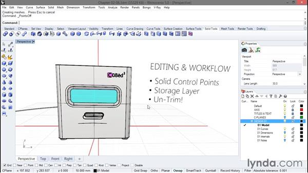 Some of Dave's killer tips for editing: Rhino Projects: Building a Gaming Console