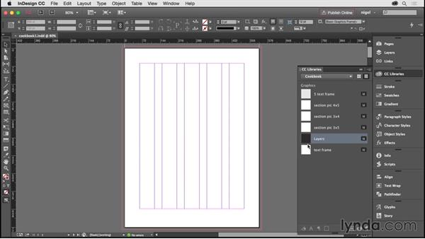 Creating layers: Designing an Illustrated Book