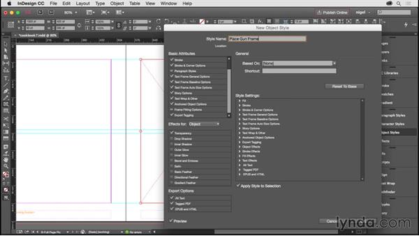 Creating additional master pages: Designing an Illustrated Book