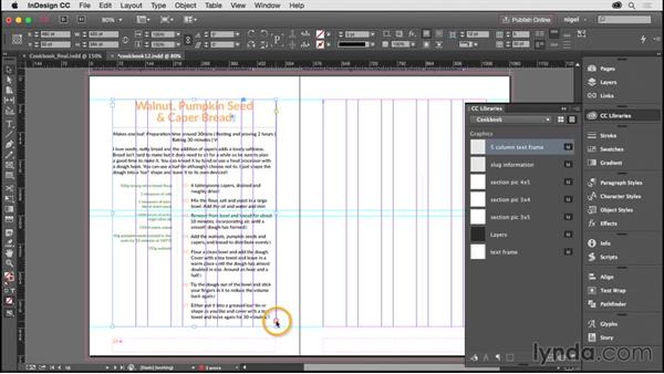 Adjusting the page order and editing styles: Designing an Illustrated Book