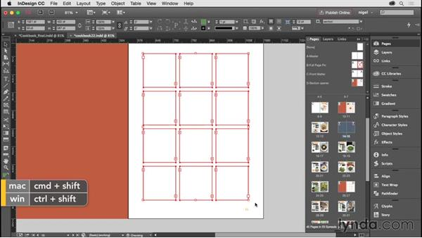 Creating the section heads, part 3: Designing an Illustrated Book