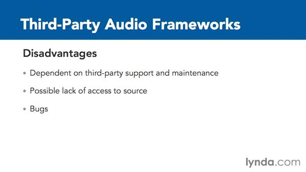 Overview of third-party audio frameworks for iOS audio: Creating Audio Apps for iOS