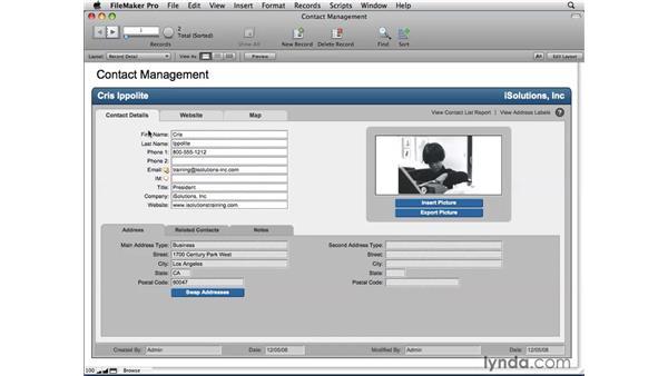 How FileMaker works: FileMaker Pro 10 Essential Training