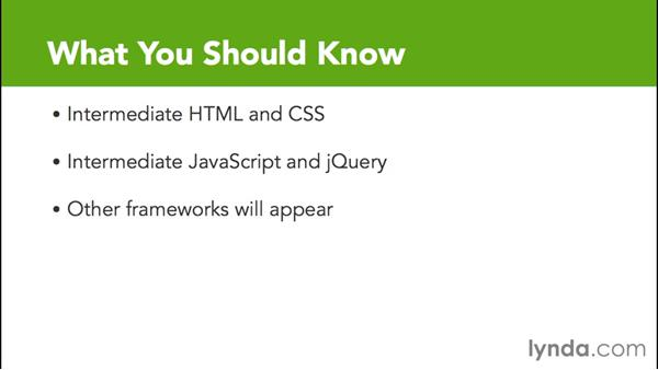 What you should know before watching this course: Debugging the Web: JavaScript