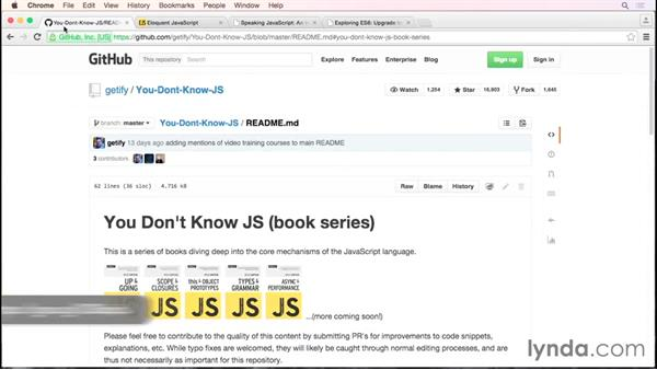 More reading, courses to watch, and thanks!: Debugging the Web: JavaScript