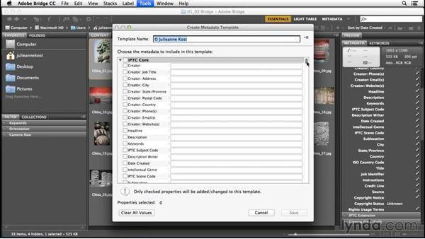 Adding Basic Metadata With Metadata Templates