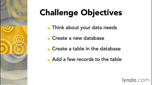 Challenges explained: Database Fundamentals: Core Concepts