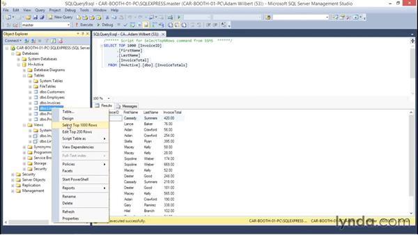 Introducing views: Database Fundamentals: Core Concepts
