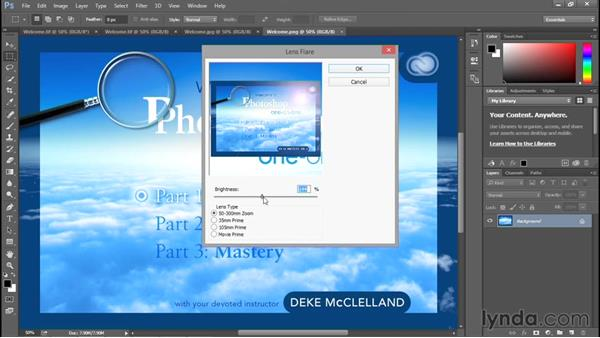 Closing one image, or all at once: Photoshop CC 2015 One-on-One: Fundamentals