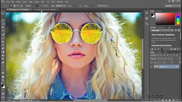 Zooming continuously: Photoshop CC 2015 One-on-One: Fundamentals