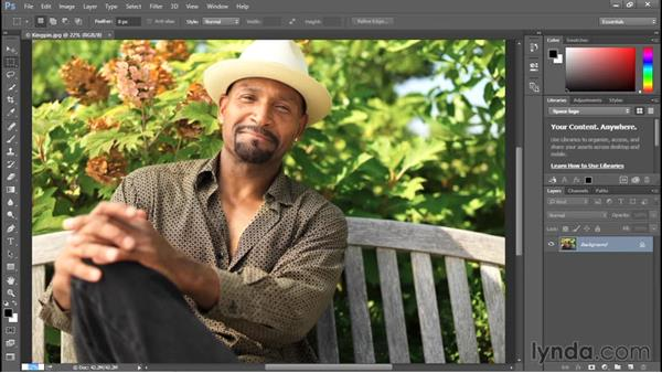 Entering a custom zoom value: Photoshop CC 2015 One-on-One: Fundamentals