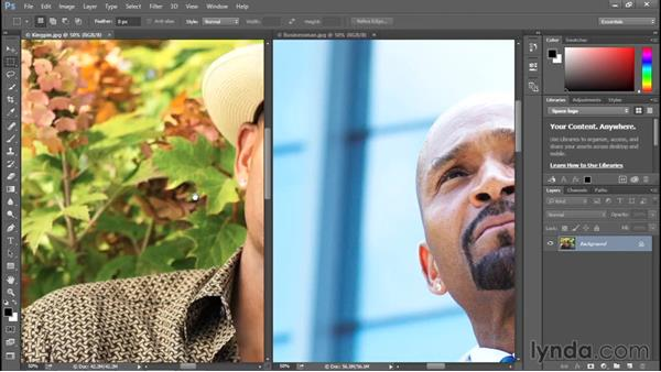 A few top-secret scrolling tricks: Photoshop CC 2015 One-on-One: Fundamentals