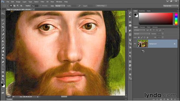 Changing the print resolution: Photoshop CC 2015 One-on-One: Fundamentals