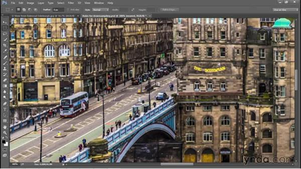 Some practical downsampling advice: Photoshop CC 2015 One-on-One: Fundamentals