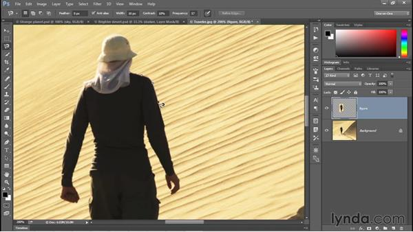 Using each of the three Lasso tools: Photoshop CC 2015 One-on-One: Fundamentals