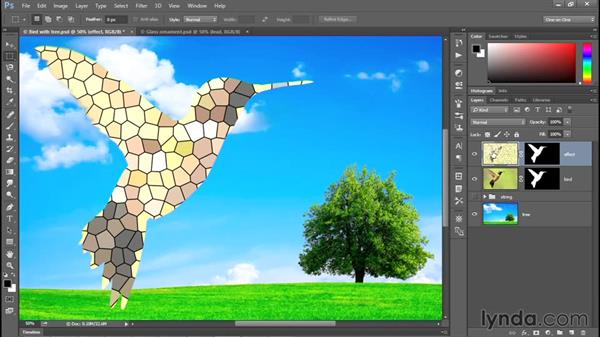 Applying a special-effects filter: Photoshop CC 2015 One-on-One: Fundamentals
