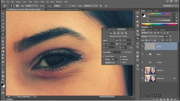 Flipping and rotating the source data: Photoshop CC 2015 One-on-One: Fundamentals