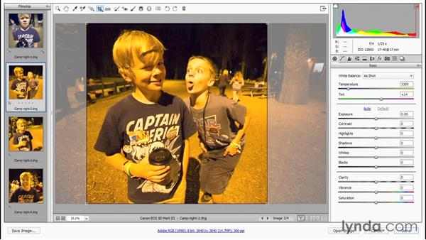 Opening and editing multiple images: Photoshop CC 2015 One-on-One: Fundamentals