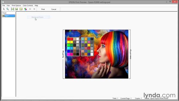 Brightening your image for print: Photoshop CC 2015 One-on-One: Fundamentals