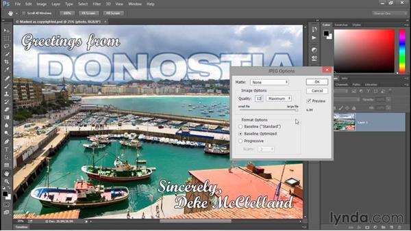 How color works on the web: Photoshop CC 2015 One-on-One: Fundamentals
