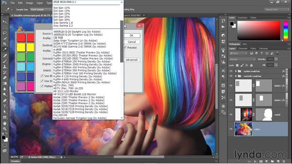 Using the new Quick Export command: Photoshop CC 2015 One-on-One: Fundamentals