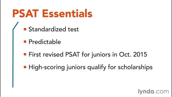 About the PSAT test: PSAT Test Prep