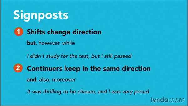 Using signposts in reading passages: PSAT Test Prep