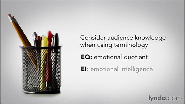 Adapting to audience knowledge: Speech Writing