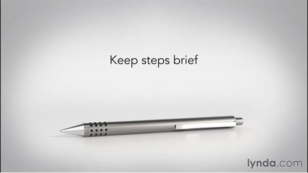 Providing instructions: Speech Writing